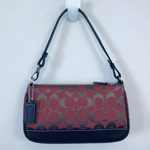 COACH ~ Dark Red Handbag - New!